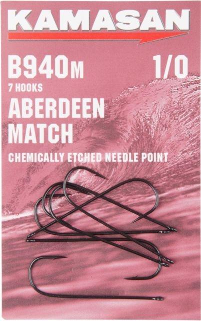 Kamasan B940M Aberdeen Match Hooks jpeg